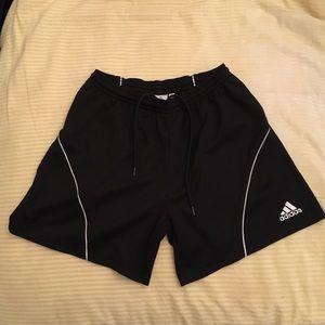 Black Adidas Soccer Shorts